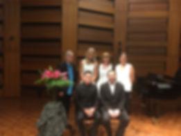 Sartory Quartet with Robert Wallace Laird & Stuart James
