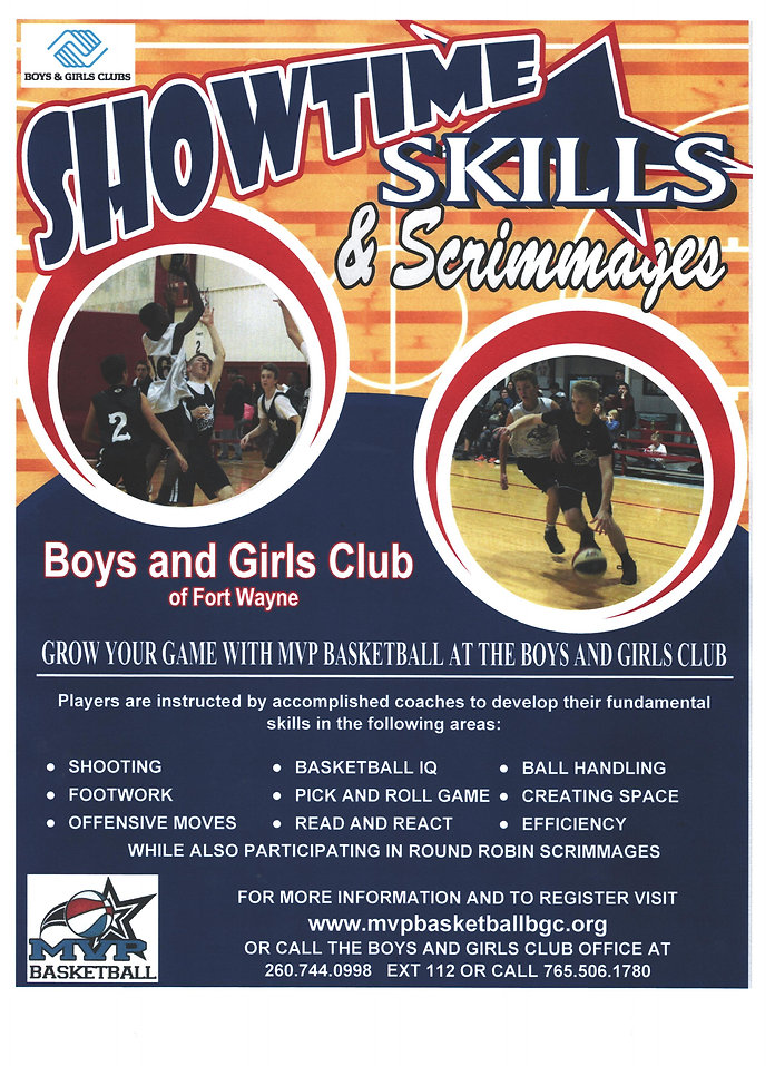 SCAN MVP Showtime Skills Scrimmages Flye