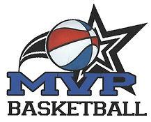 MVP Basketball multi color logo for stit