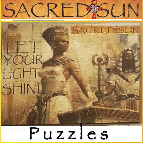 Sacred Sun Puzzles