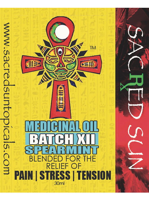 Full Spectrum body oil - spearmint
