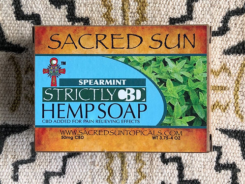 Strictly CBD Spearmint Soap