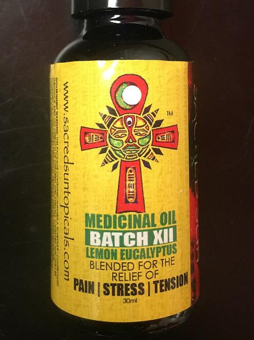 Full Spectrum body oil Lemon Eucalyptus