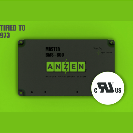 KPM Power achieves key safety certification for its Anzen Battery Management System