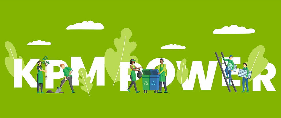 KPM Power family working together for a greener and cleaner world