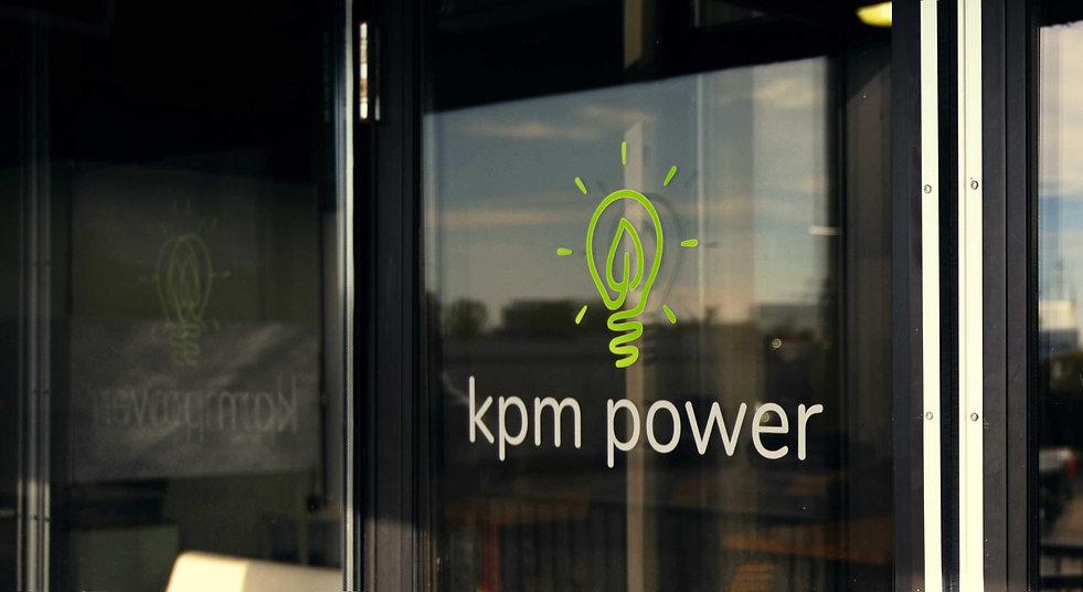 KPM Power Toronto headquarters front door entrance