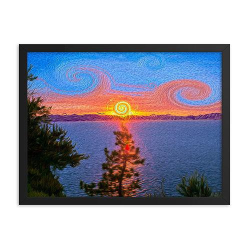 Tahoe Dreaming - Framed Poster
