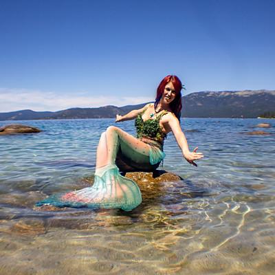 Mermaid of Lake Tahoe