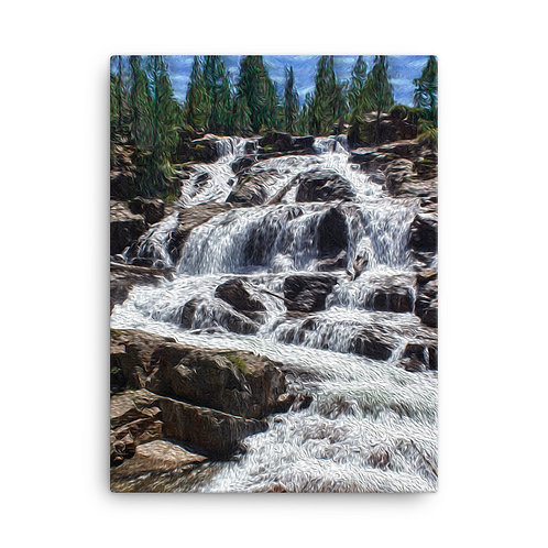 Waterfall-Canvas