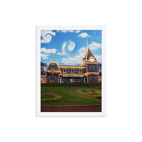 Main Street - Framed Poster