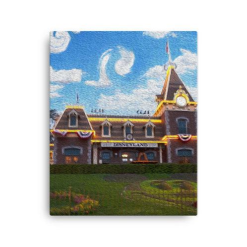 Main Street - Canvas