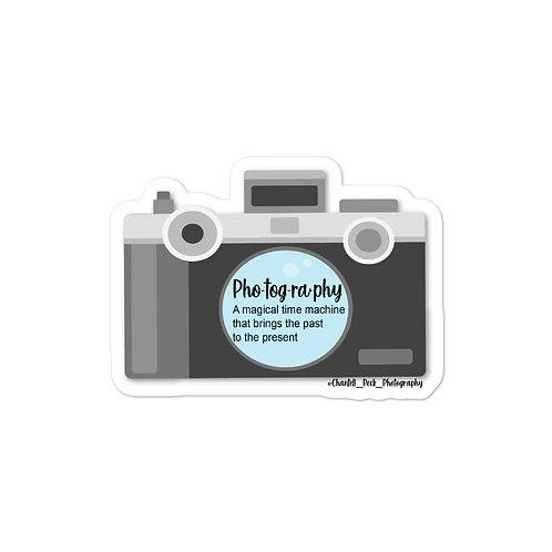 Photography -sticker