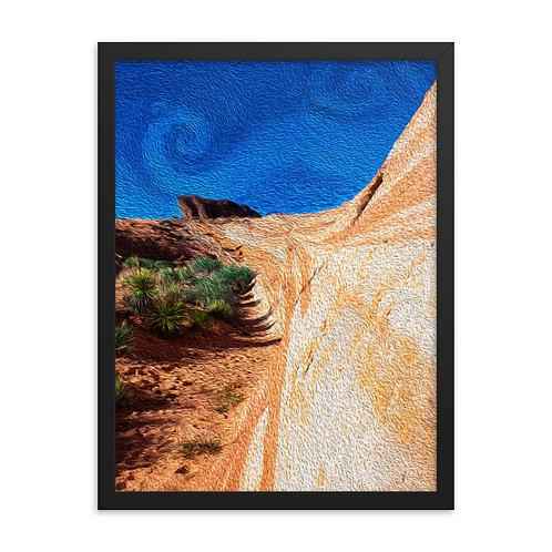 The Desert Tide - Framed poster