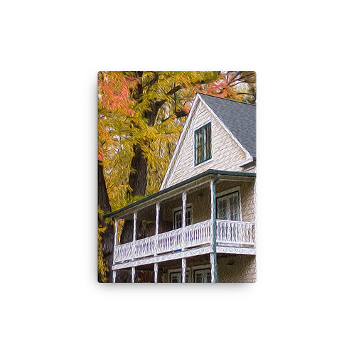 Colonial home - Canvas
