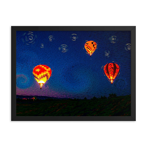 Up and Away - Framed poster