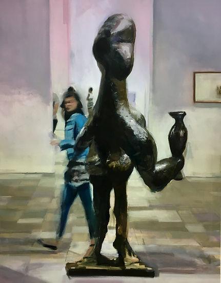 Pablito 2018 Öl auf Leinwand 140 x 110 cm