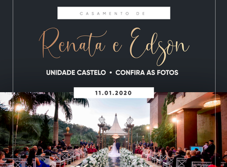 Casamento de Renata e Edson