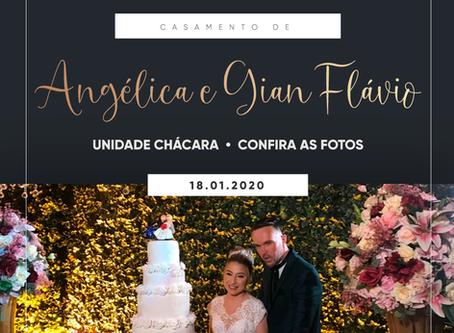 Casamento de Angélica e Gian Flávio