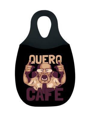Reliza Lixeira de Carro em Neoprene Personalizada - Quero Cafe