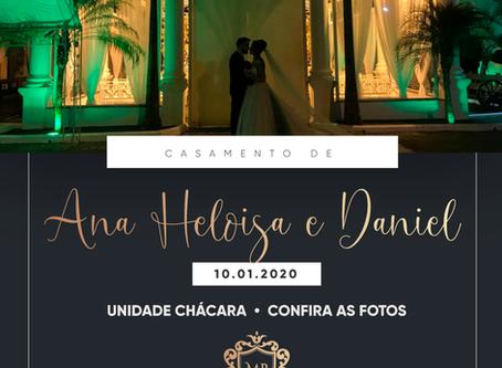 Casamento de Ana Heloisa e Daniel