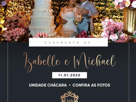 Casamento de Isabelle e Michael