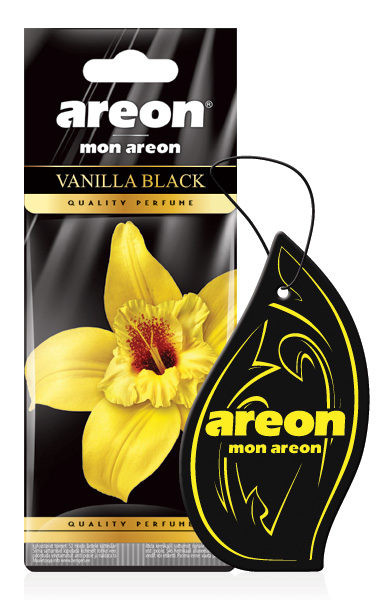 Areon Seco Vanilla Black