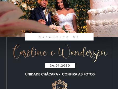 Casamento de Caroline e Wanderson