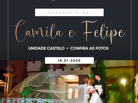 Casamento Camila e Felipe