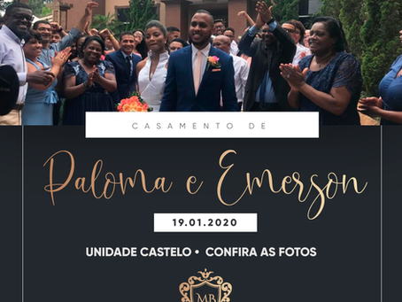 Casamento de Paloma e Emerson
