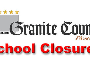 Granite County to close schools starting March 18