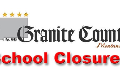 Granite County to close schools starting March 18
