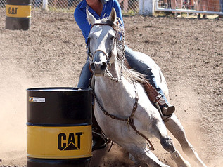 55th Annual Helmville Rodeo: Barrel Racing