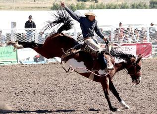 55th Annual Helmville Rodeo: Saddle Bronc Calcutta
