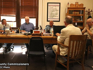 Commissioners approve water flow, funding for county TV