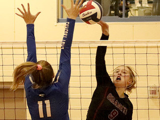 Late rally lifts Granite past Drummond in five set match
