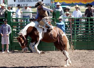 55th Annual Helmville Rodeo: Bareback