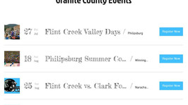Welcome to Granite County Events!