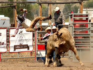 2021 Drummond Kiwanis PRCA Rodeo - Bull Riding & Clown