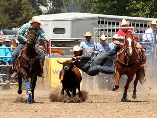 2021 Drummond Kiwanis PRCA Rodeo - Team Roping & Steer Wrestling