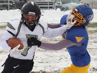 Titans claim Western Division with win at Victor