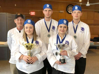 Drummond second at state culinary competition