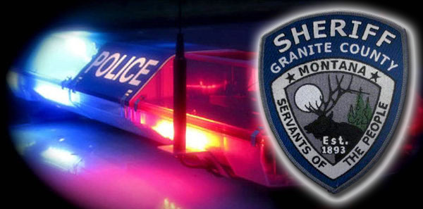 Granite County Sheriff's Report: October 25, 2021