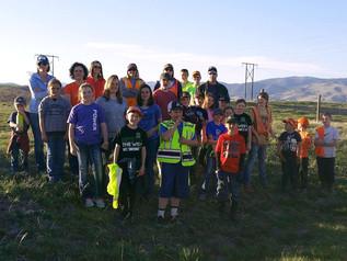 4H Club lends a helping hand roadside