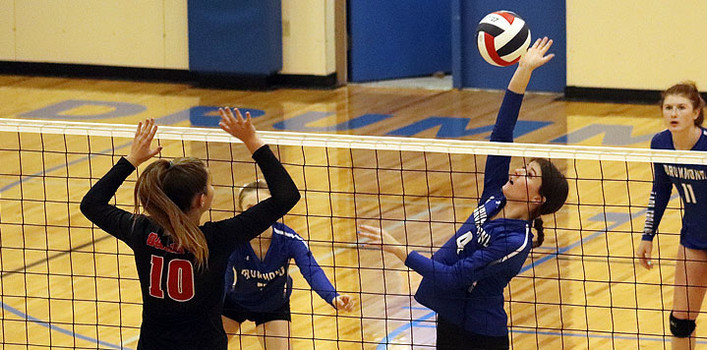 Lady Trojans close district play beating Darby