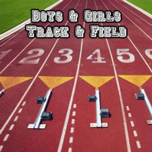 Boys & Girls Track & Field Banner Ad (2019 Season)