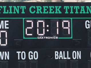 Flint Creek Titans release 2019 Schedule