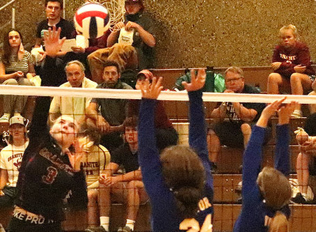 Granite gets sweep of Victor for Homecoming