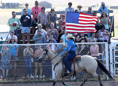 55th Annual Helmville Rodeo: Opening Ceremonies
