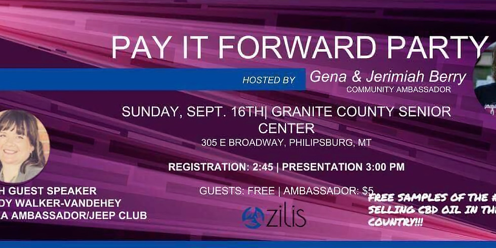 Pay it Forward Party
