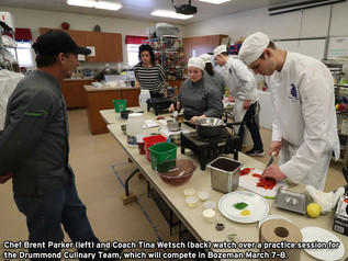 Drummond Culinary hopes to make the cut at ProStart competition